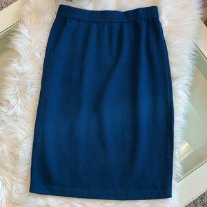 Dresses & Skirts - St. John Knit Pencil Skirt